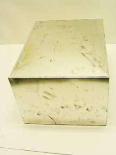 Metal Tin Kitchen Cabinet Drawer Bread Box 12 X 16 X 9 Hoosier