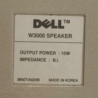 Genuine Dell W3000 30 LCD TV Silver Speakers +Hardware