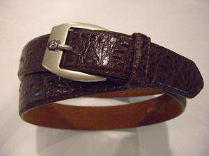 ED050 Brown Leather Mens Belts Sizes 30 to 44 (S to XL)