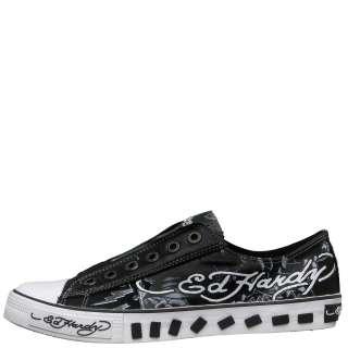 Ed Hardy Black Lowrise Van Nuys Shoe for Women