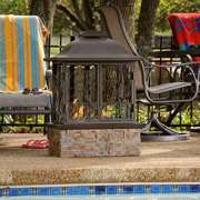 Albuquerque Portable Indoor / Outdoor Fireplace Albuquerque Portable