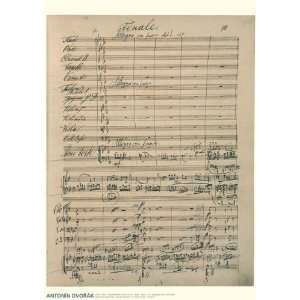 Poster Piano Concerto in G minor, Op. 33 Finale (Allegro con fuoco
