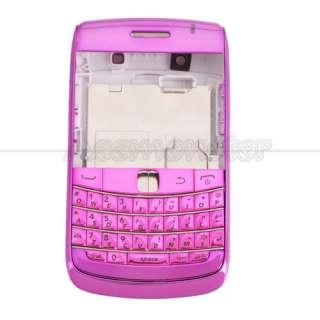 Full Housing Case for BlackBerry Bold 9700 Purple Red