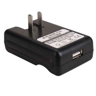 2x1500mAh BF5X Li ion Battery+Dock Wall AC Charger For Motorola Photon