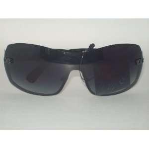 Womens Fashion Wide Oversized Sunglasses / Shades   Dark