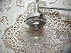 VINTAGE RETRO 50S 60S MILK GLASS OIL LAMP CHIMNEY