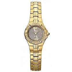 Seiko Coutura Womens Gold Tone Diamond Quartz Watch