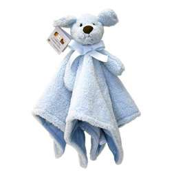 Piccolo Bambino Blue Dog Cuddly Pals Soft Blanket  Overstock