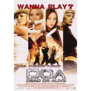 DOA: Dead or Alive   Movie Poster   27 x 40: Home