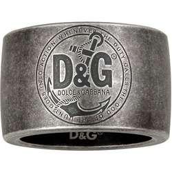Dolce & Gabbana Mens Anchor Ring