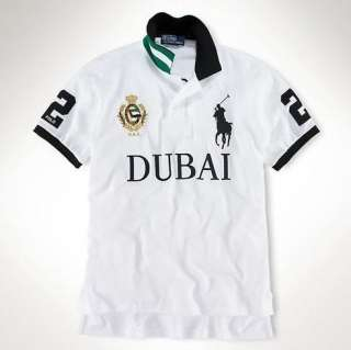 NEW DUBAI Classic Fashion polo Mens T shirt SizeM,L,XL,XXL
