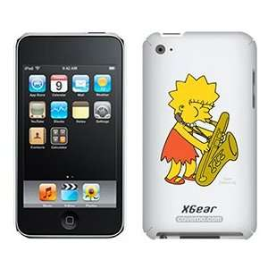 Lisa Simpson on iPod Touch 4G XGear Shell Case
