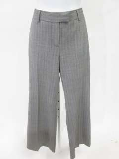 JAIDAN Gray Wool Striped Dress Pants Slacks Trousers 2