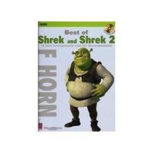 Best of  Shrek  and  Shrek 2   French Horn (9781575608006) Books