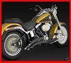 & Hines 46059 Big Radius Exhaust   Black   2012 Harley FLST / FXST