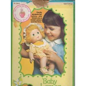 Baby Lemon Meringue Strawberry Shortcake Blow Kiss Doll: Toys & Games