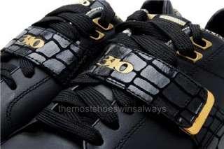 310 Motoring Mens Shoes Ligier 31135 Black/Gold