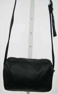 NICOLE MILLER BOUTIQUE Black Satin Shoulder Handbag