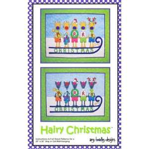 Hairy Christmas quilt pattern, Amy Bradley Designs ABD222