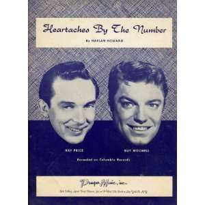 Heartaches By the Number Harlan Howard, Ray Price, Guy