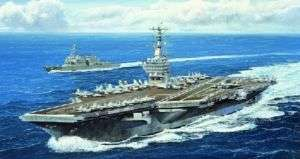 TRP5739 USS Nimitz CVN68 Aircraft Carrier 2005 1 700 Tr