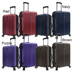 Tasmania Polycarbonate 2 piece Expandable 8 wheel Spinner Luggage Set