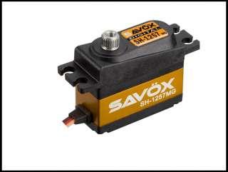 Savox Micro Tail Servo .07/34 SH1257MG