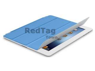 Slim Magnetic Smart Front Cover Stand Case for Apple iPad 2 The New