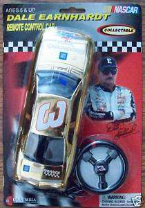2002 DALE EARNHARDT REMOTE CONTROL CAR GOLD #CAR WAL