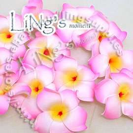 20 pieces 3 Hawaii Floating Plumeria Flower Wedding Party Favor