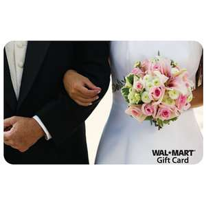 Bride and Groom Gift Card Gift Cards