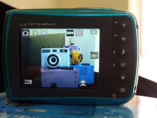 16MP max resolution underwater digital camera, Waterproof, lomo effect