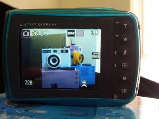 16MP max resolution underwater digital camera, Waterproof, lomo effect