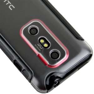 Sprint HTC EVO 3D 4G Ballistic Hybrid TPU Hard Case Cover
