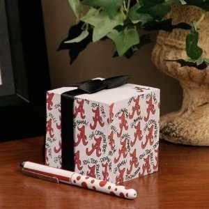 NCAA Alabama Crimson Tide Paper Cube and Pen Set Sports
