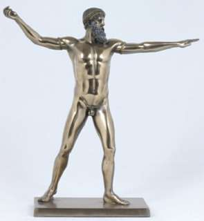 Greek God Poseidon / Zeus of Artemisium Statue   8235