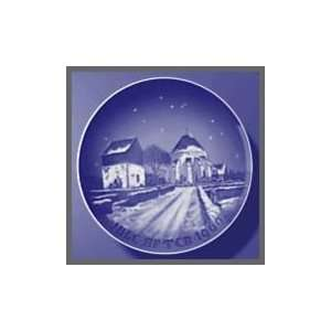 1960 Bing & Grondahl Christmas Plate   Village Church
