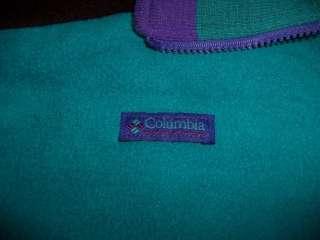 Columbia Ladies Jacket Coat Womans Medium Aqua Blue