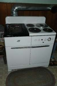 Lectro Host Wood Coal Kitchen Stove Lindemann Hoverson |