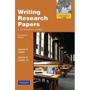Writing Research Papers (9780205227044): Books