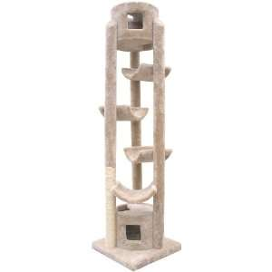 Pinnacle Cat Tree with Sisal Scratching Post Pet Supplies