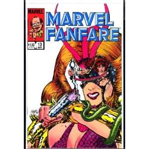 Marvel Fanfare #13 March 1984 , Comic Book (Volume 1