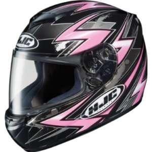 HJC CS R2 Full Face Helmet Thunder Graphic Pink