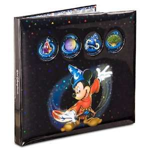 Disney World Four Parks Sorcerer Mickey Scrapbook Album