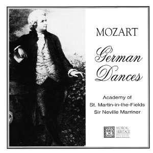 Wolfgang Amadeus Mozart   German Dances   1756 1791: Wolfgang Amadeus