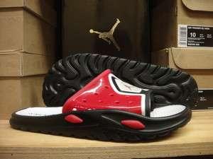 Nike Jordan Camp Slide 3 Black White Sandals Mens Sz 8