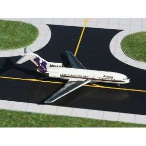 Gemini Jets Alaska Airlines B727 100 Model Airplane