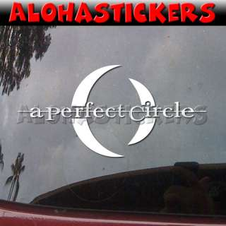 PERFECT CIRCLE Vinyl Decal Car Window Sticker N52
