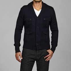 Antony Morato Mens Slim Fit Shawl Collar Wool Blend Cardigan