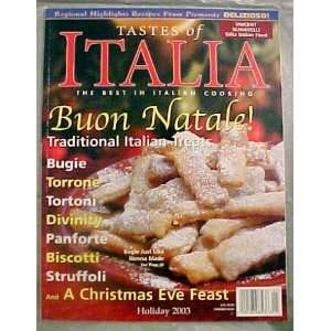 Natale! Traditional Italian Treats!, Vol. 3 No. 6) various Books
